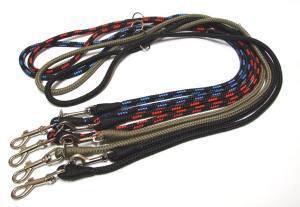 Mini F/ührleine Hundeleine Nylonleine 3-fach verstellbar