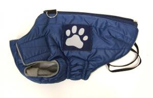 Hundejacke -Winterjacke- BIG PAW BLUE Gr.0