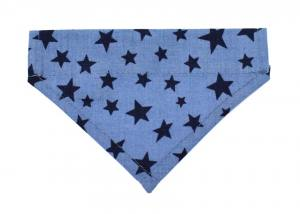 Halstuch/Halsband 2 in 1 STAR BLUE bis Gr.5