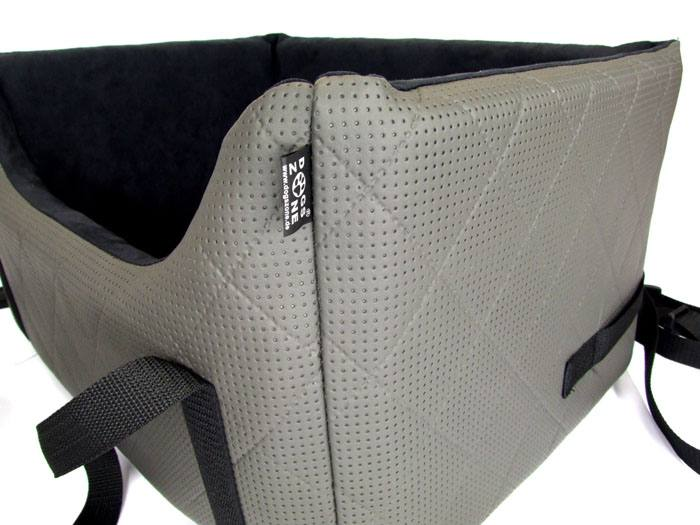autositz f r hunde auto k rbchen hund auto hundeautositz grey elegance gr 2 ebay. Black Bedroom Furniture Sets. Home Design Ideas