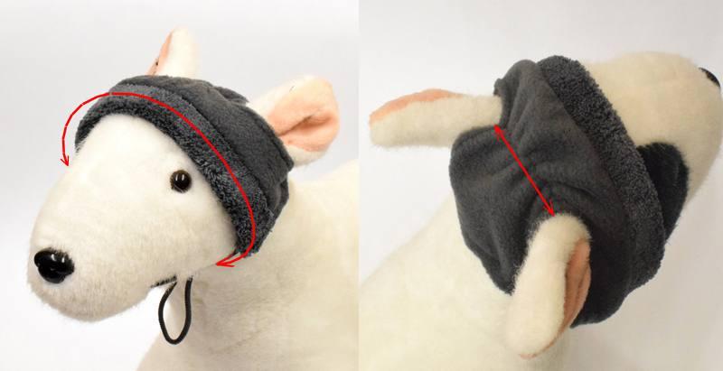 Hundejacke,Winterjacke mit Schal NESNA BLUE