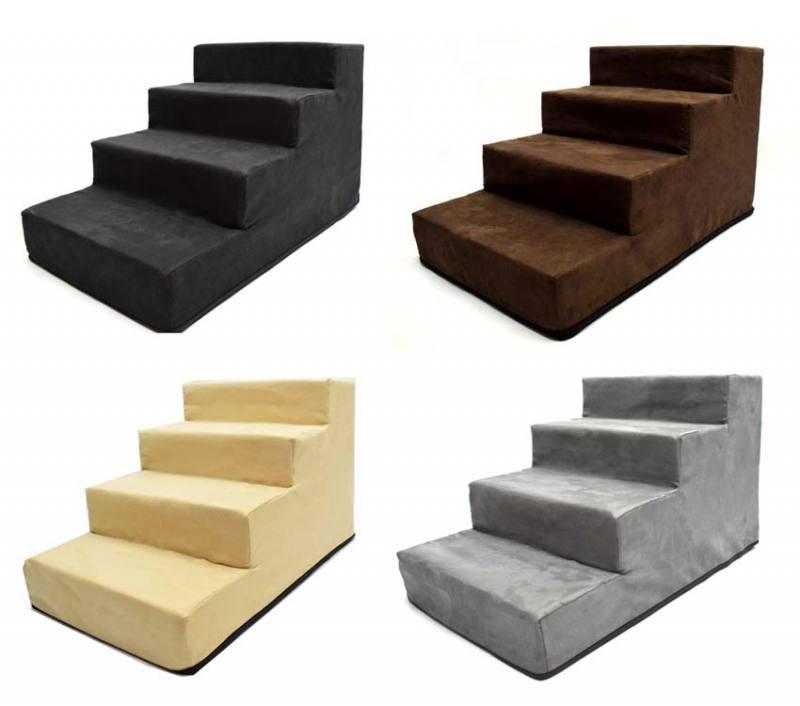 hundetreppe dogszone gr m mit 4 stufen. Black Bedroom Furniture Sets. Home Design Ideas
